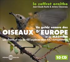 LE COFFRET ORNITHO - OISEAUX D'EUROPE ET DU MAGHREB