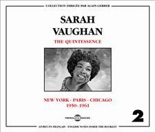 SARAH VAUGHAN - VOL2 - THE QUINTESSENCE