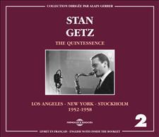 STAN GETZ - THE QUINTESSENCE VOL. 2