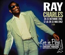 RAY CHARLES - LIVE IN PARIS 20-21 OCTOBRE 1961 / 17-18-20-21 MAI 1962