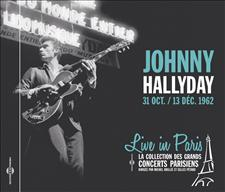 JOHNNY HALLYDAY - LIVE IN PARIS 31 OCT. / 13 DÉC. 1962