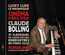 CIN�MA PIANO SOLO, 21 CLASSIQUES DE CLAUDE BOLLING EN PIANO SOLO
